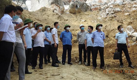 Chủ tịch UBND tỉnh Thái Nguyên thị sát hiện trường, chỉ đạo khắc phục hậu quả mưa lũ