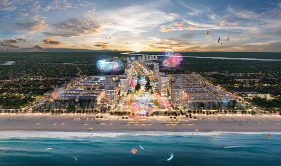Khu đô thị quảng trưởng biển Sun Grand Boulevard chính thức ra mắt tại Sầm Sơn