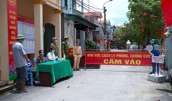 Vĩnh Phúc tiếp tục cách ly xã hội một phường tại thành phố Phúc Yên