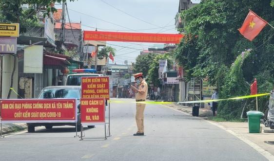 Nam Định: Huyện Ý Yên thiết lập vùng cách ly để phòng, chống dịch COVID-19 tại 2 xã Yên Cường và Yên Thắng