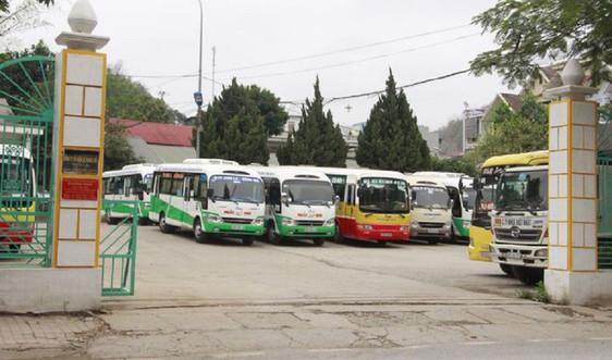Tạm dừng hoạt động vận tải hành khách từ Sơn La đi 12 tỉnh