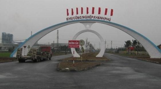 Ninh Bình: Tăng cường công tác vệ sinh môi trường tại Khu công nghiệp Khánh Phú