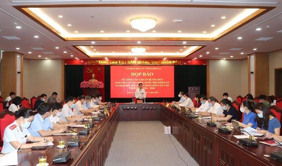 Sơn La: Họp báo thông tin công tác chuẩn bị bầu cử ĐBQH khóa XV và đại biểu HĐND các cấp