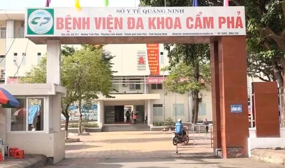Quảng Ninh: Kỷ luật bác sỹ và điều dưỡng viên Bệnh viện Cẩm Phả vì bỏ lọt F1