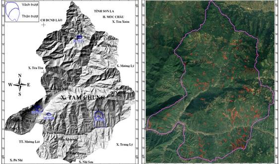 Lập bản đồ hiện trạng trượt lở đất đá bằng công nghệ mới