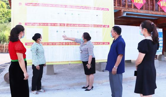 Lai Châu: Chủ động các phương án phòng chống dịch Covid-19 trong ngày bầu cử