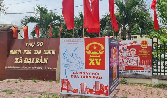 Đảng ủy xã Đại Bản (Hải Phòng): Chủ động, tập trung cao cho Ngày bầu cử