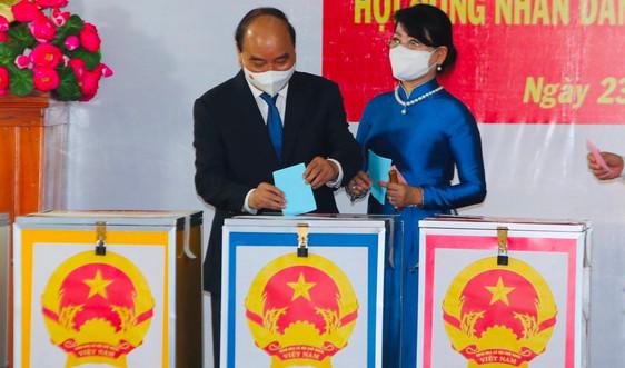 TP.HCM: 5,4 triệu cử tri bỏ phiếu bầu đại biểu Quốc hội khoá XV và HĐND các cấp