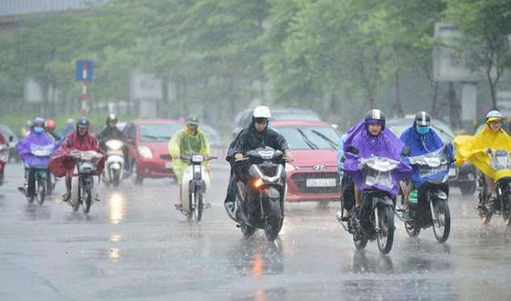 Thời tiết 24/5, Hà Nội có mưa rào và dông