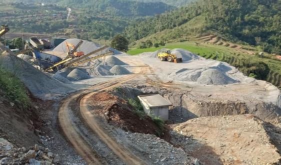 Lai Châu: Xử phạt hành vi khai thác, tàng trữ đá trái phép tại xã Nậm Khao