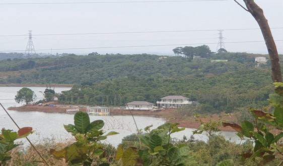 """Đắk Nông: Sẽ cưỡng chế tháo dỡ vụ xây """"khu nghỉ dưỡng chui"""" trên đất thuỷ điện"""