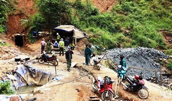 Xử lý nghiêm hành vi vi phạm giấy phép khai thác khoáng sản