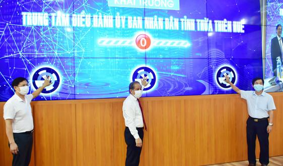 Khai trương Trung tâm điều hành UBND tỉnh Thừa Thiên Huế