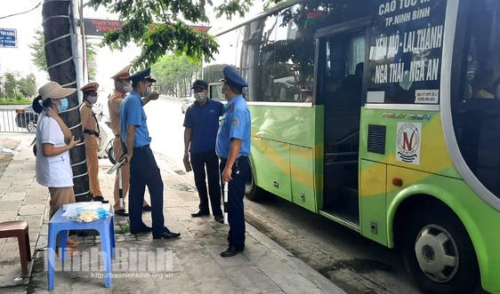 Ninh Bình thành lập 5 chốt kiểm soát các phương tiện vận tải khách