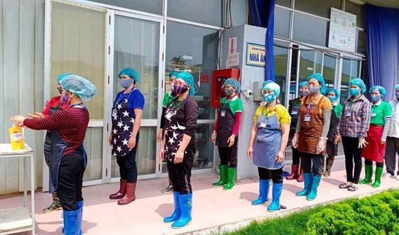 Khu, cụm công nghiệp Ninh Bình: Siết chặt bảo vệ môi trường, nâng cao mức phòng dịch covid-19