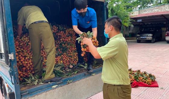 QLTT hỗ trợ tiêu thụ nông sản cho nông dân Bắc Giang