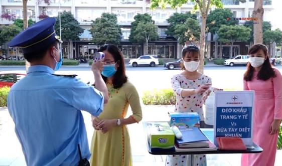 Các đơn vị của EVN tiếp tục siết chặt các biện pháp phòng, chống dịch bệnh COVID-19