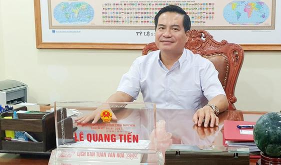 Phó Chủ tịch UBND tỉnh Thái Nguyên Lê Quang Tiến: Đưa quản lý khai thácđất san lấp vào nền nếp