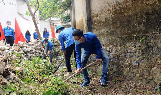 Sơn La: Nhiều hoạt động bảo vệ môi trường hưởng ứng Chiến dịch thanh niên tình nguyện hè