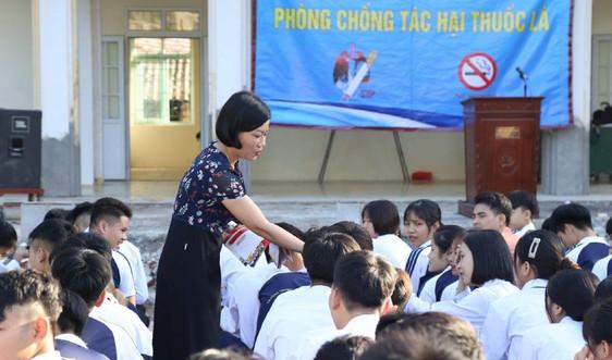 Cần tiếp tục đẩy mạnh tuyên truyền về tác hại của thuốc lá điện tử trong trường học