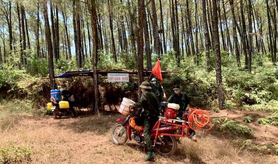 Thừa Thiên Huế: Tăng cường các biện pháp cấp bách phòng cháy, chữa cháy rừng