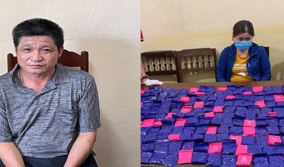 Thanh Hóa:Bắt cặp đôi vận chuyển lượng lớn ma túy từ Lào về tiêu thụ
