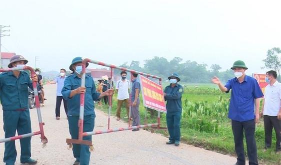 Phú Bình (Thái Nguyên): 4/6 xóm kết thúc cách ly xã hội