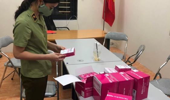 Hà Nội: Tạm giữ 400 hộp test Covid-19