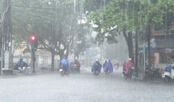 Dự báo thời tiết ngày 12/6: Cảnh báo mưa lớn, gió giật mạnh do áp thấp nhiệt đới