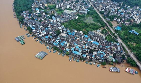 Lũ lụt ở Trung Quốc ảnh hưởng đến hơn 16 triệu người