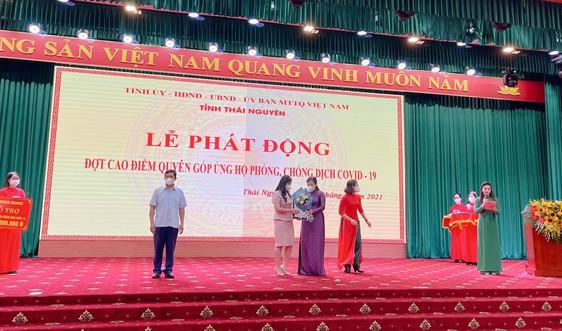 Danko Group ủng hộ tỉnh Thái Nguyên 1 tỷ đồng phòng, chống Covid 19