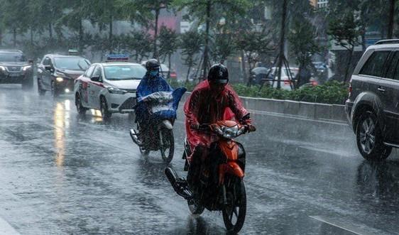 Thời tiết ngày 14/6, Bắc Bộ có mưa rào và dông
