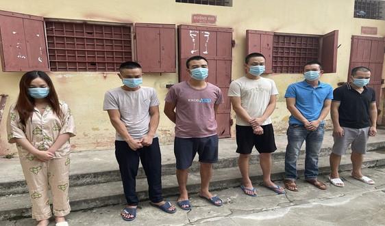 Thanh Hóa: Bắt giữ nhóm đối tượng sử dụng ma túy tại quán karaoke
