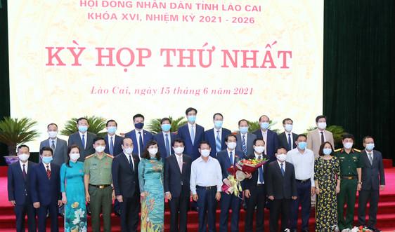 Lào Cai: Bầu ban lãnh đạo HĐND, UBND tỉnh nhiệm kỳ 2021-2026
