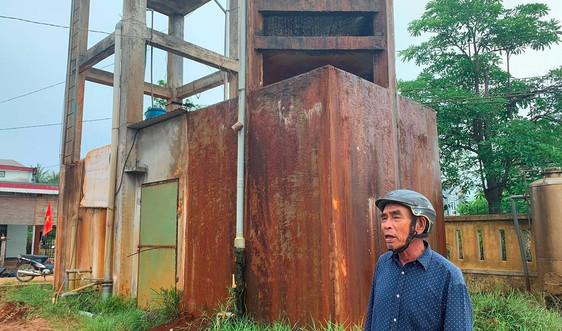 Quảng Nam: Trả tiền mua nước sạch nhưng phải dùng nước nhiễm phèn