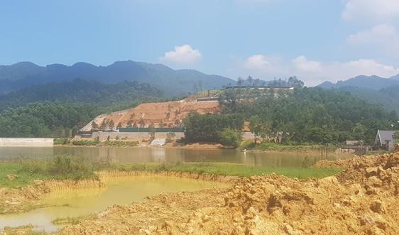Phúc Yên - Vĩnh Phúc: Cận cảnh tình trạng xây dựng trái phép tại xã Ngọc Thanh