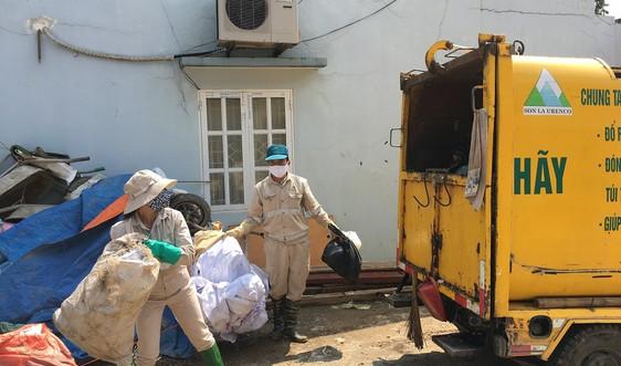 Sơn La: Nỗ lực mở rộng địa bàn thu gom rác thải gắn với phòng chống dịch Covid-19