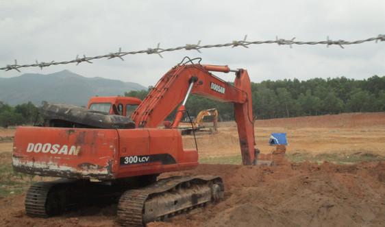 Bình Định quy hoạch và cấp phép khai thác khoáng sản đất san lấp các công trình trọng điểm