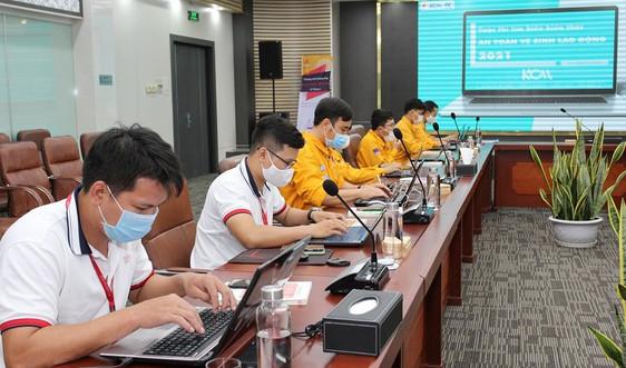 PV GAS trao giải cuộc thi trực tuyến kiến thức An toàn vệ sinh viên