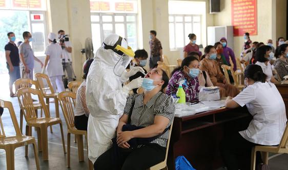 Lào Cai: F1 của bệnh nhân 12255 nghi nhiễm Covid-19
