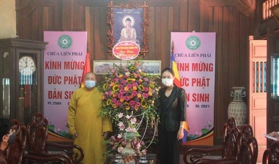 Ban Tôn giáo Chính phủ chúc mừng Cơ quan truyền thông Trung ương GHPG Việt Nam