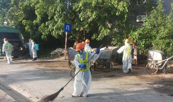 """Nghệ An: Nỗ lực đảm bảo thu gom, xử lý rác thải trong """"tâm"""" dịch"""
