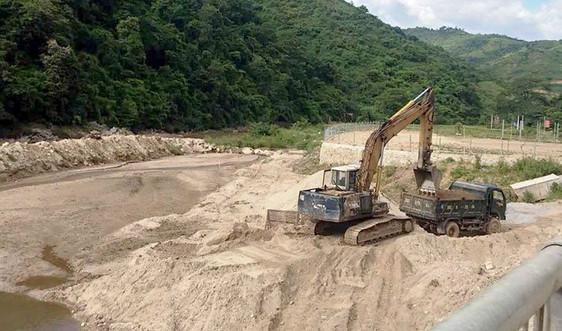 Điện Biên: Khó quản lí, cát, sỏi tại các điểm khai thác nhỏ lẻ…