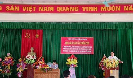Nông Cống (Thanh Hóa): Họp báo cưỡng chế thu hồi đất phục vụ dự án cao tốc Bắc - Nam