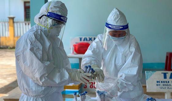 Quảng Ngãi thêm 19 ca dương tính SARS-CoV-2 ở 2 xã, phường cách ly xã hội