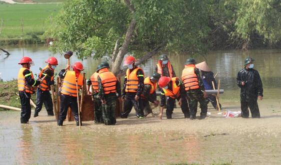 Vĩnh Phúc tổ chức diễn tập ứng phó bão lụt và tìm kiếm cứu nạn năm 2021