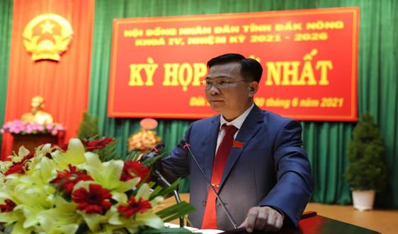 Giám đốc Công an tỉnh được bầu làm Chủ tịch UBND tỉnh Đắk Nông