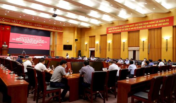 Đảng ủy Bộ TN&MT học tập, quán triệt Nghị quyết Đại hội XIII của Đảng và của Đảng bộ Khối các cơ quan Trung ương
