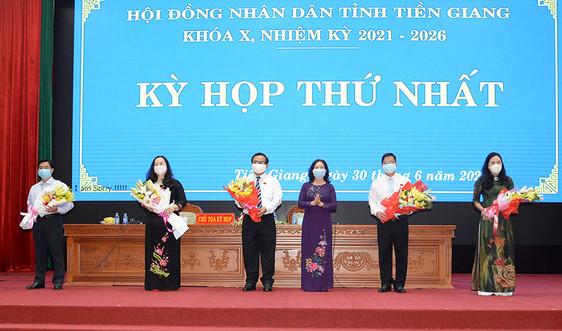 Tiền Giang: Phó Bí thư Thường trực Tỉnh ủy giữ chức vụ Chủ tịch HĐND tỉnh
