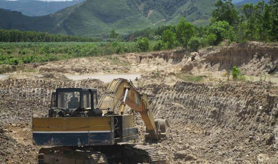 Bình Định: Vân Canh nhức nhối nạn trộm đất sét